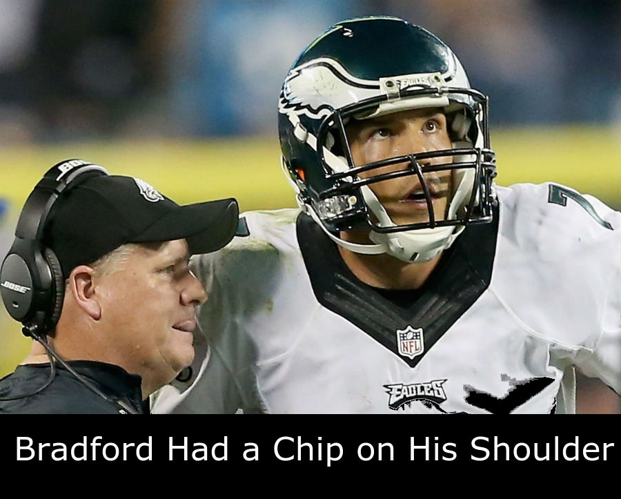 Chip Kelly and Sam Bradford
